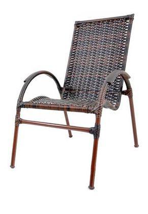 Cadeira de Área Aruba - Ferro e Fibra Original Móveis