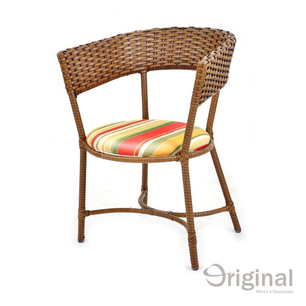 Cadeira de Área Alumínio e Fibra Turquia Original Móveis