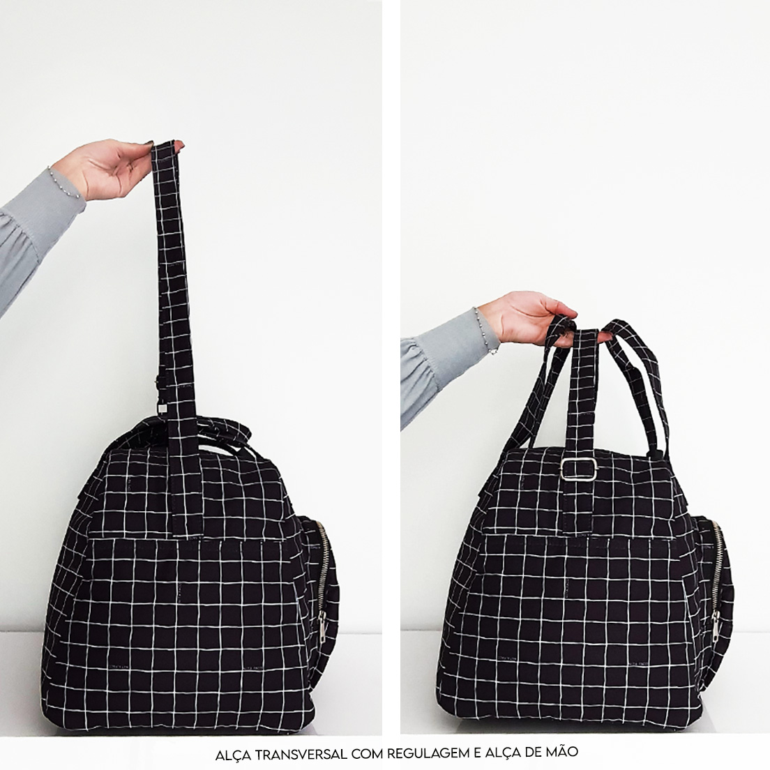 Bolsa | Mala de mão Preta