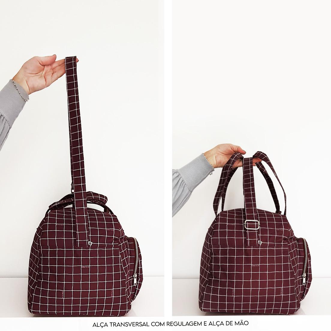 Bolsa | Mala de mão Vinho