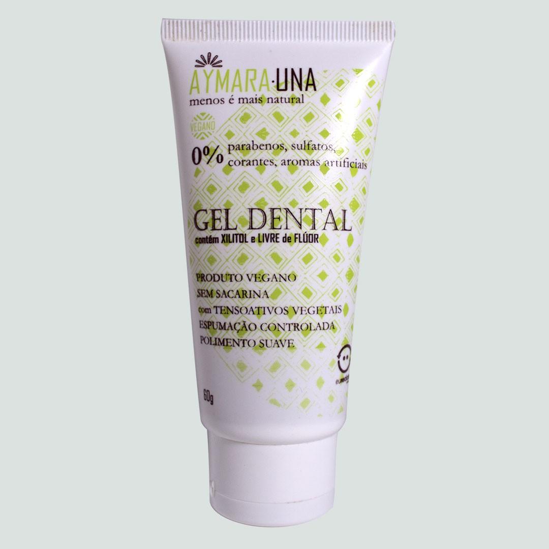 GEL DENTAL - 30% Xilitol, Sem Flúor, pH 6,8-7,2 - 60g