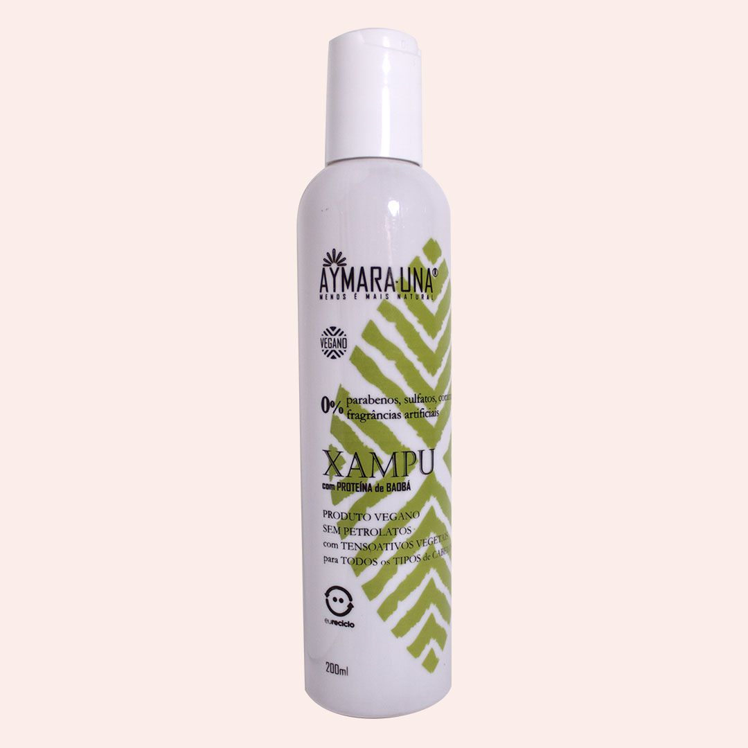 SHAMPOO - com Proteína de Baobá - 200ml
