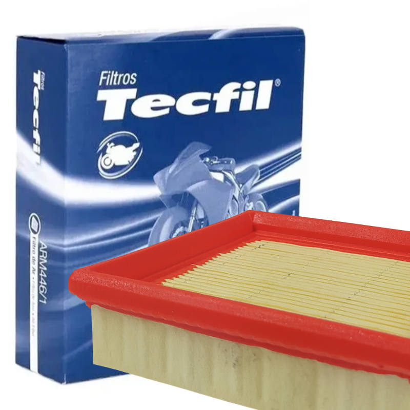 Filtro De Ar ARM446/1 Pop 100/ Bros/ Fan/ Cg 150-08 Tecfil