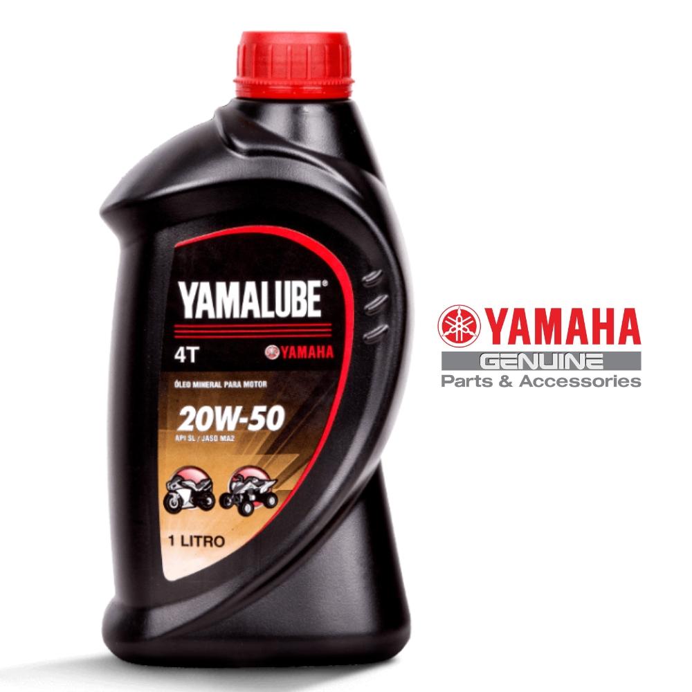 Kit Troca Óleo Yamalube 20w-50 4T Fazer 150 /Crosser 150