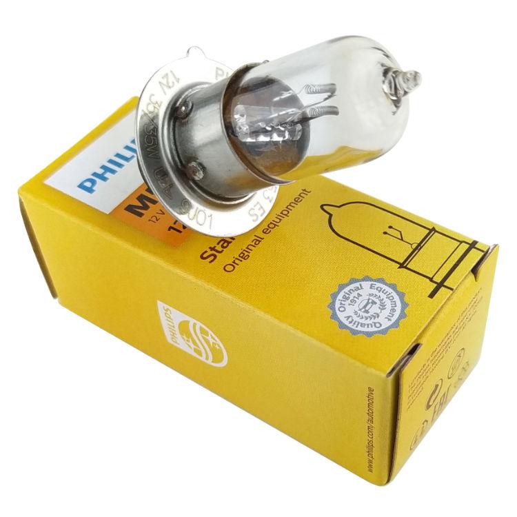 Lâmpada Farol Biz 100/125/Bros150/Pop/Neo/Crypton Philips M5