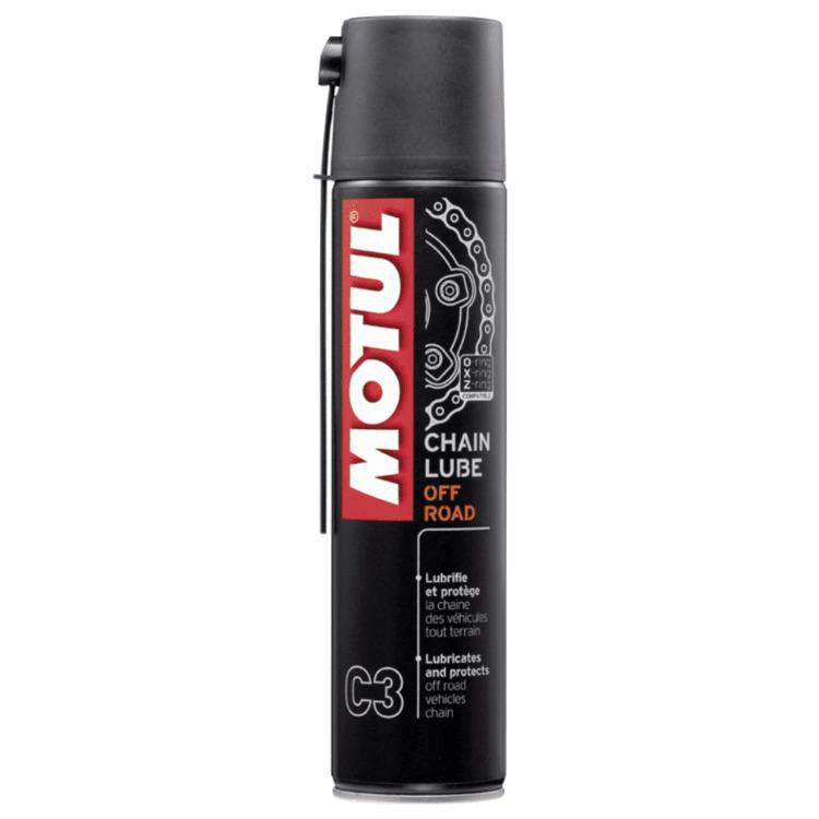 Motul C3 Chain Lube 400ml Spray Lubrif Corrente Off Road