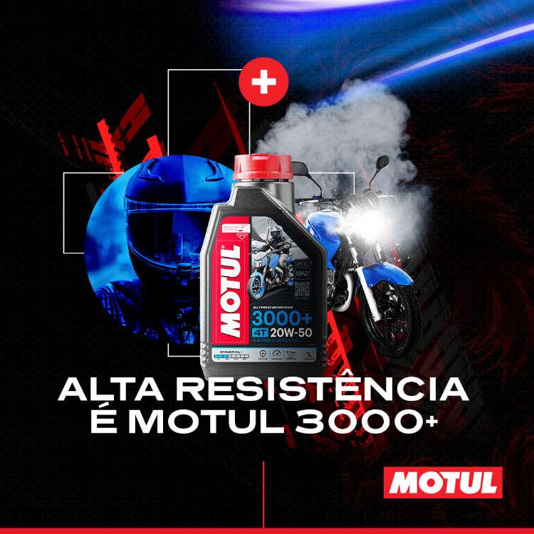 Óleo 20w50 Motul 3000+
