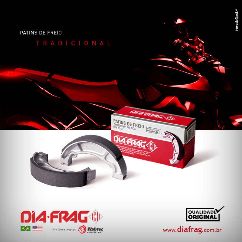 Patins de Freio Diant/Tras Cg 150 Diafrag