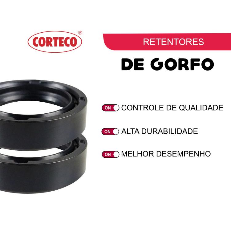 Retentor bengala Ti 150-160/Fan 150-160/Nxr 125-150-160 Corteco