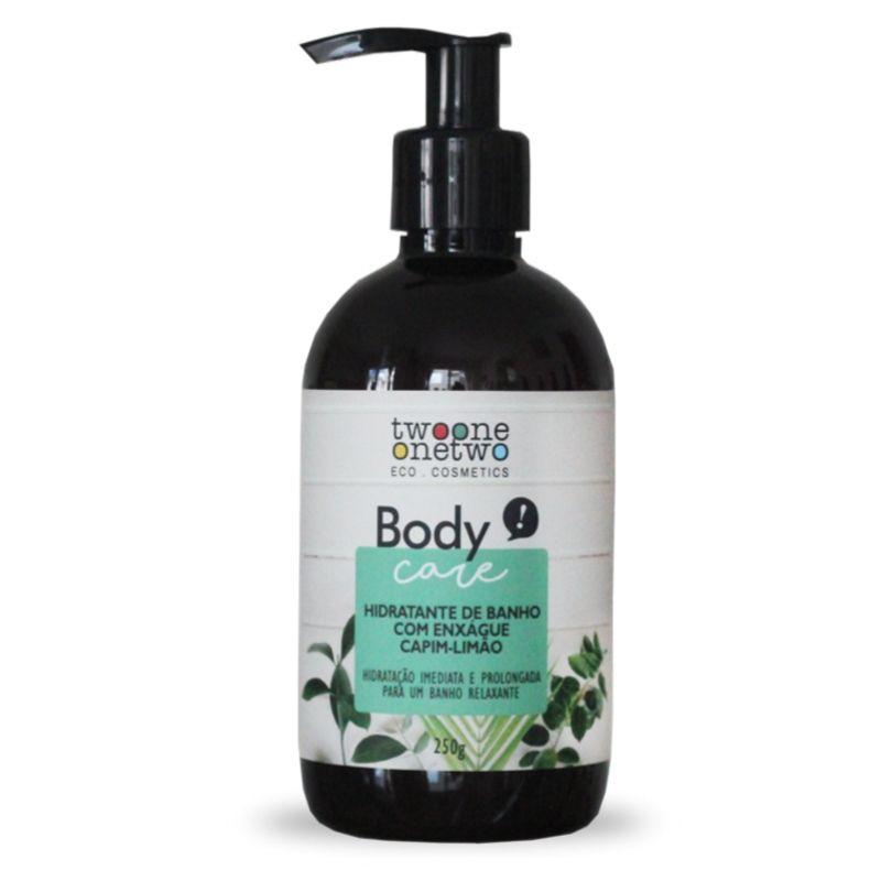 407 - Hidratante de Banho Natural Vegano  Capim-Limão Twoone Onetwo 250g