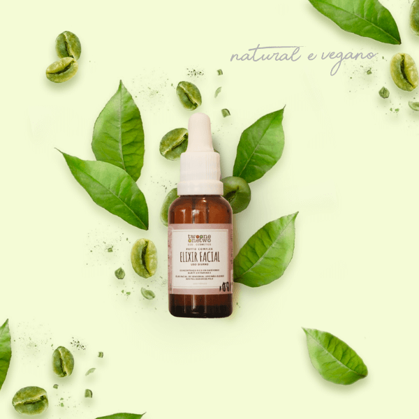 415 - Elixir Vegano Facial Diurno Natural Buriti e Café Verde Twoone Onetwo 30ML