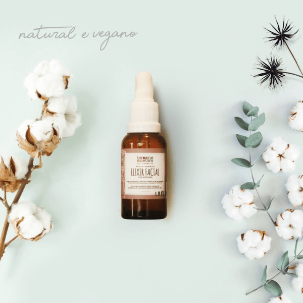 416 - Elixir Facial Noturno Natural Vegano  Revinage Twoone Onetwo 30ML