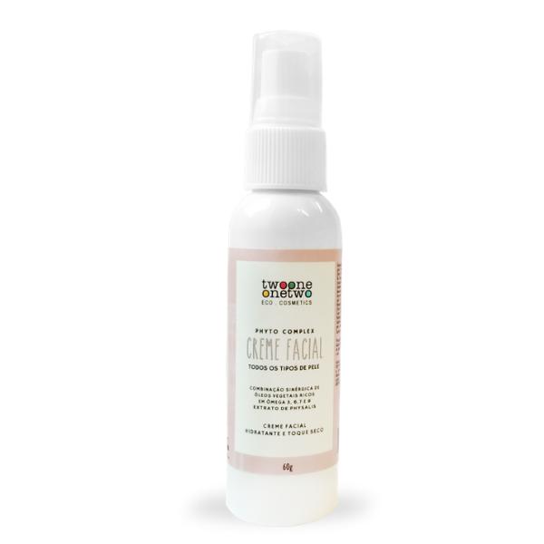 417 - Creme Facial Hidratante Natural Vegano Physallis Twoone Onetwo 60g