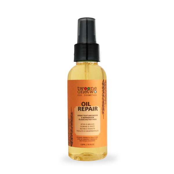 433 - Oil Repair Spray Reparador Natural Vegano  Óleos Divinos Twoone Onetwo 120ml