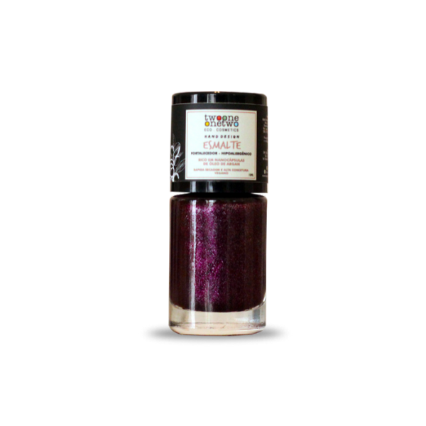 611 - Esmalte Hipoalergênico Vegano Fortalecedor Twoone Onetwo 10ml Pink  (REF 1107)