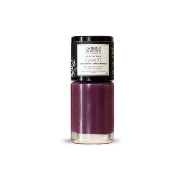 627 - Esmalte Hipoalergênico Vegano Fortalecedor Twoone Onetwo 10ml Purple (REF 1146)