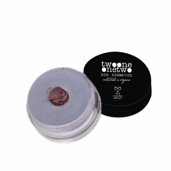 925 - Sombra em Pó Solta Leite de Coco Natural Vegano Twoone Onetwo 5g Dark Beige