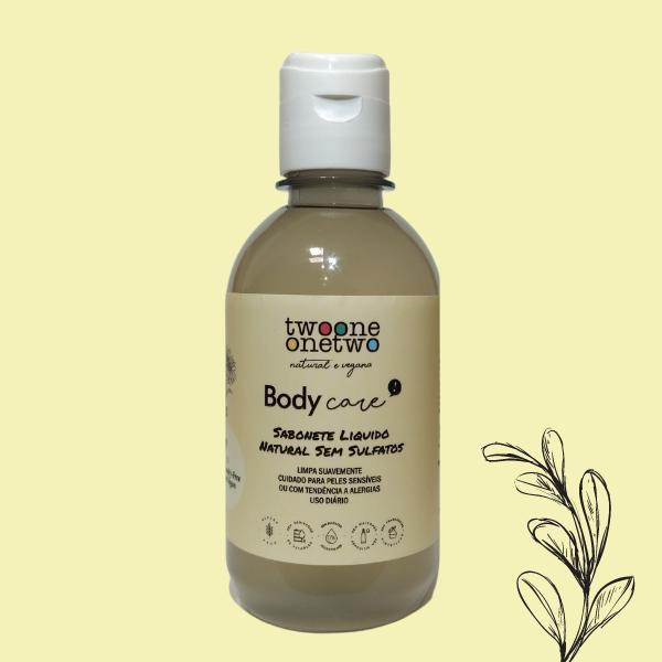 Sabonete Liquido Natural Sem Sulfatos Calêndula Twoone Onetwo Natural Vegana