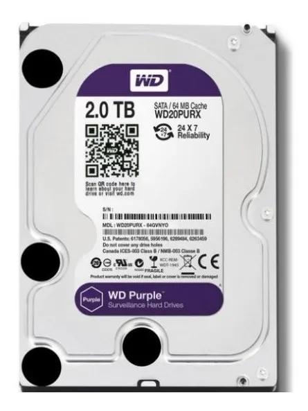 HD WD 02TB 5400 RPM PURPLE WD20PURZ