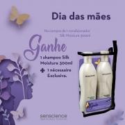 Giftbox Senscience Dia das Mães - Compre Condicionador e Ganhe Shampoo + Necessaire