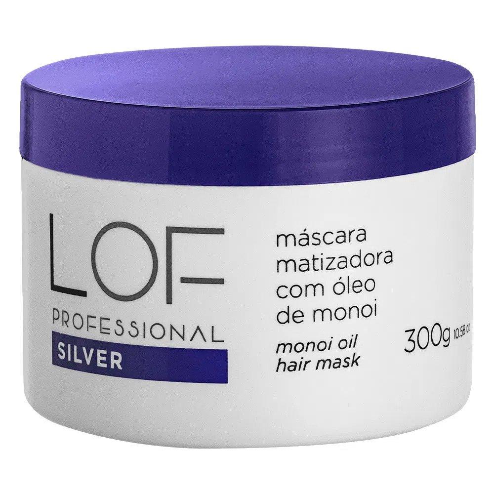LOF MASCARA SILVER MATIZADORA COM ÓLEO DE MONOI 300ML