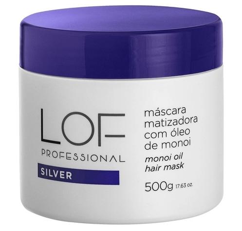 LOF MASCARA SILVER MATIZADORA COM ÓLEO DE MONOI 500ML