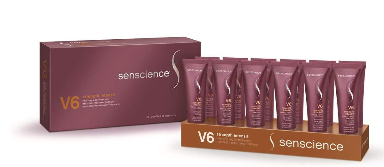 SENSCIENCE V6 STRENGTH INTENSIF - 12UN