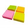 Bloco Anotação Adesivo 3,8x3,8 com 04 Cores - Interponte