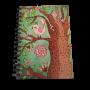 Caderno Espiral ¼ capa dura com 80 folhas Notebook