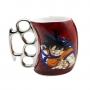Caneca Soco Inglês - Dragon Ball Z