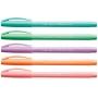 Caneta Esferográfica Trilux Style Colors com 5 unidades  Faber Castell