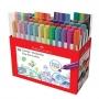 Canetas Fine Pen Colors com 48 Cores  Faber Castell