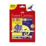 Canetinha Hidrocor 24 Cores Bicolor: 02 cores em 01 – Faber Castell