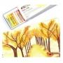 Giz De Cera Pastel Oleoso com 25 Cores PHN-25  Pentel