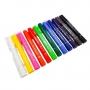 Lápis de Cera Gel com 12 Cores - Compactor