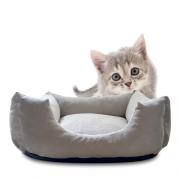Cama Para Gatos e Cães Premium Suede PuppyCat 40cm