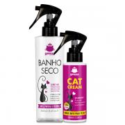 Banho A Seco e Hidratante Cat Cream para Gatos Gateza Cosmética