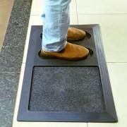 Tapete Higienizador Para Sapatos Prevenção Contra  Vírus e Bactérias
