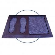 Tapete Sanitizante Residencial prevenção contra Vírus e Bacterias Flash Tapetes