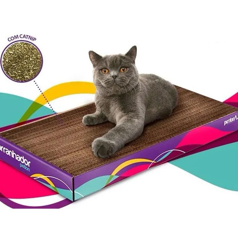 Arranhador Gato Antiestresse Petlon Alta Qualidade