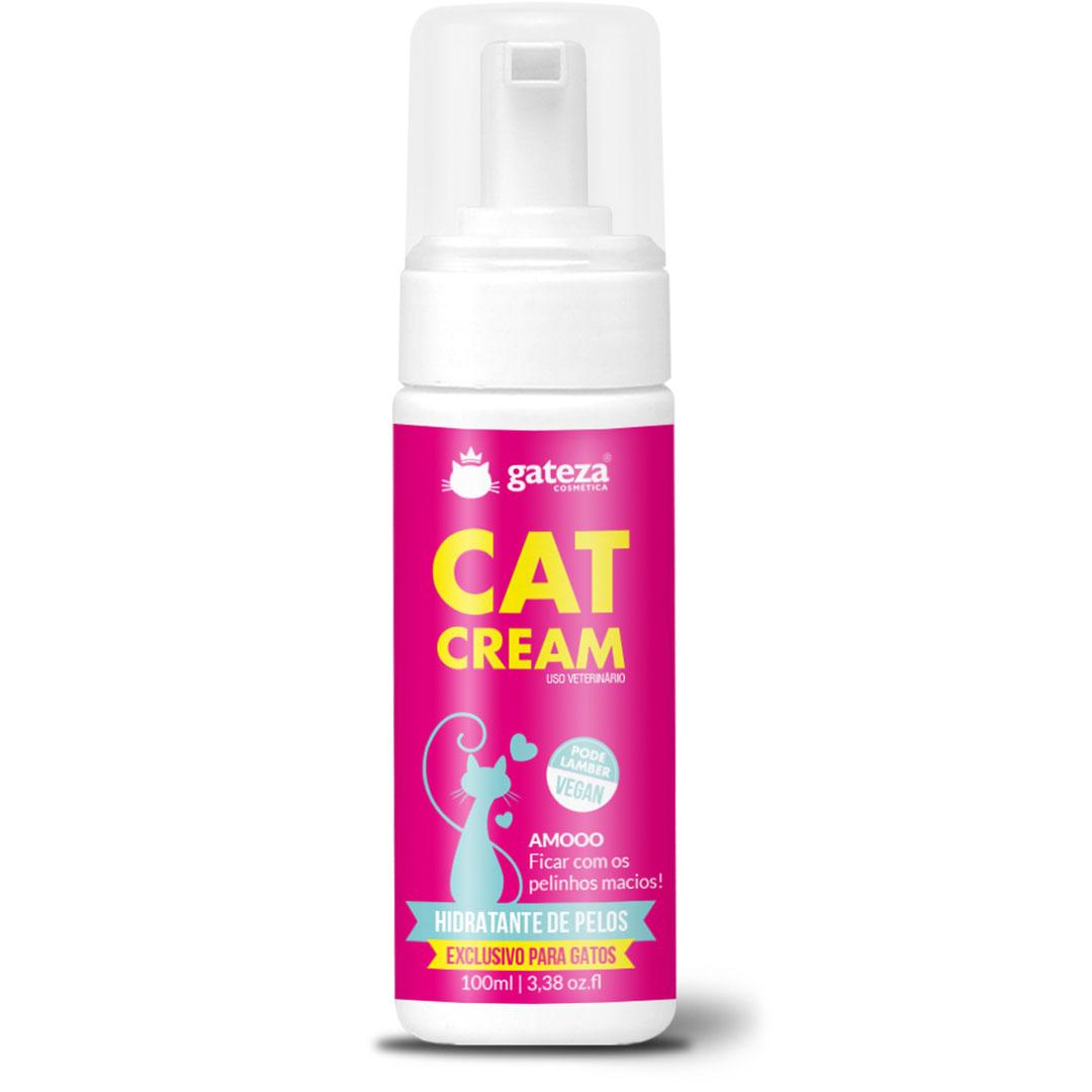 Creme Hidratante de Pelos Para Gatos CAT Cream Gateza Cosmética 100ml