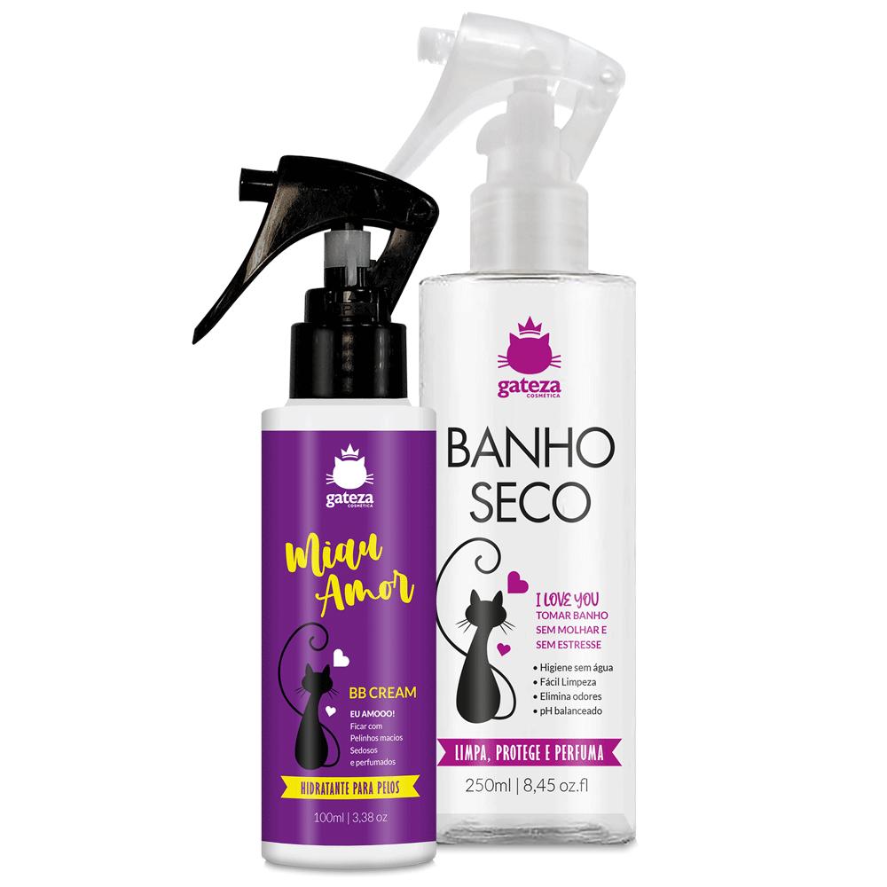 Kit Miau Amor Shampoo e BB Cream Gateza Cosmética