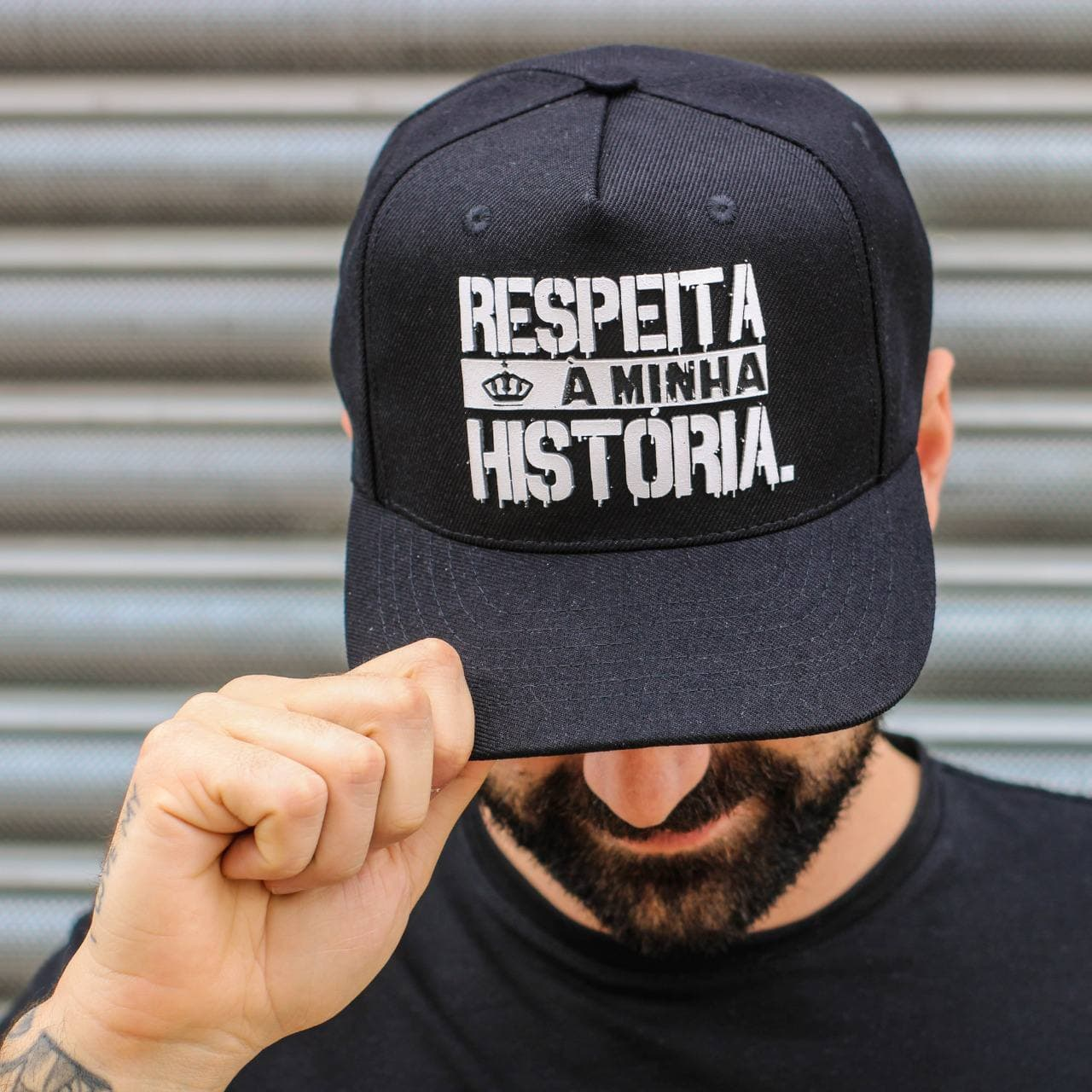 Boné Respeita a Minha História