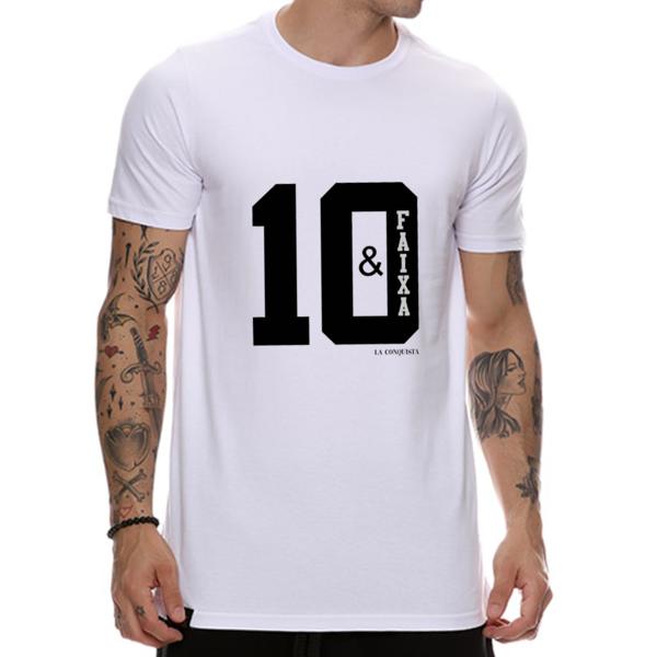 Camiseta 10 e faixa - Boleiro