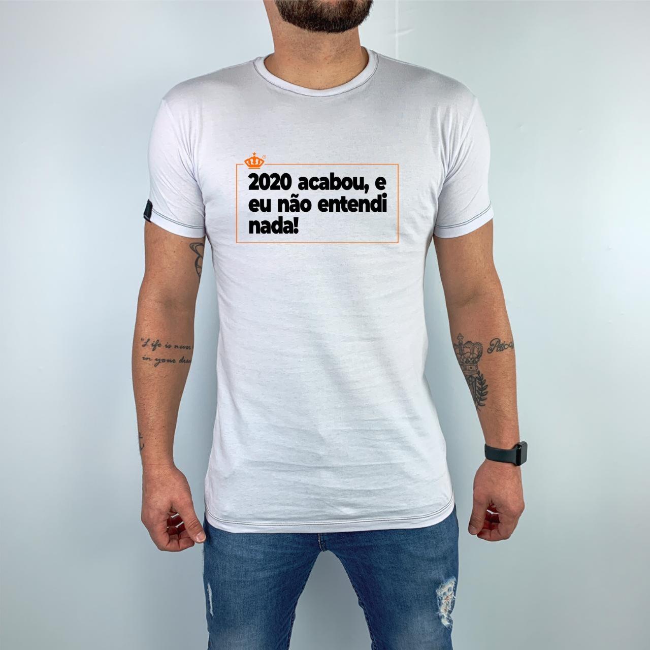 Camiseta 2020 acabou, e eu não entendi nada