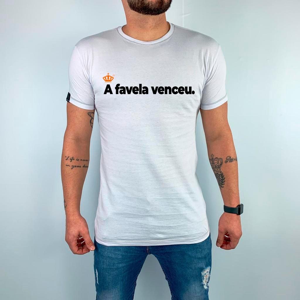 Camiseta A favela venceu