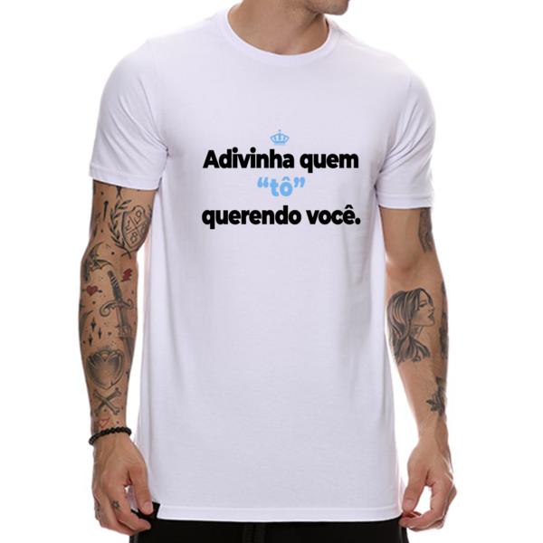 Camiseta Adivinha quem