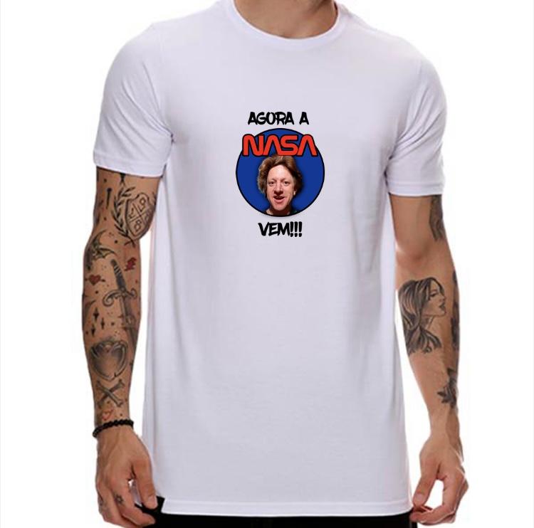 Camiseta Agora a Nasa vem