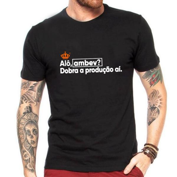 Camiseta Alô Ambev