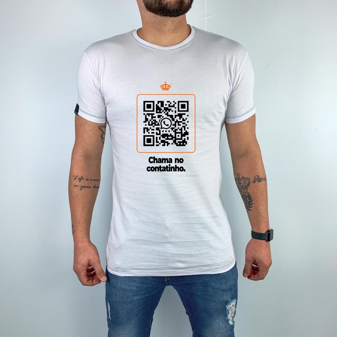 Camiseta Edição Especial QR Code